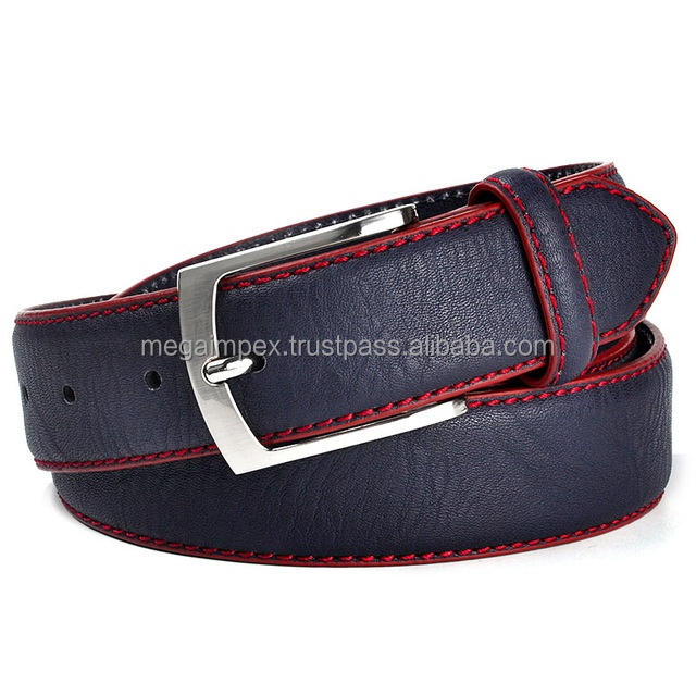 Leather Belt - Leather Fashion Belt/Fashion Belt for Men/Leather Belt fashionable buckle