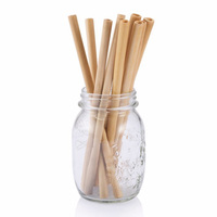 Bamboo Straws with customized logo