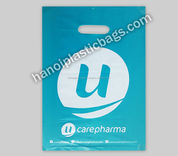 fold over die cut recyclable plastic bags High quality