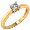 14kt Real Gold 0.50, 0.70, 1.00ct Certified Diamond Solitaire Wedding Engagement ring Jewelry