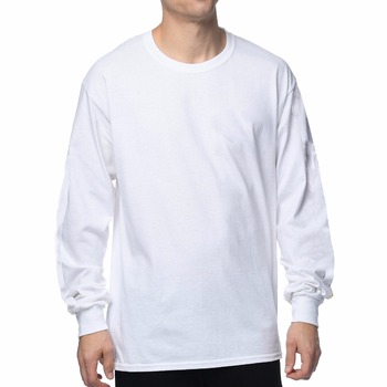 Custom plain zegaapparel long sleeve tshirt