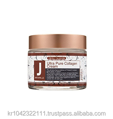JKorea Ultra Pure Collagen 70g Wrinkle Care Aqua Marine Face Skin Cream cosmetic Magic Plus