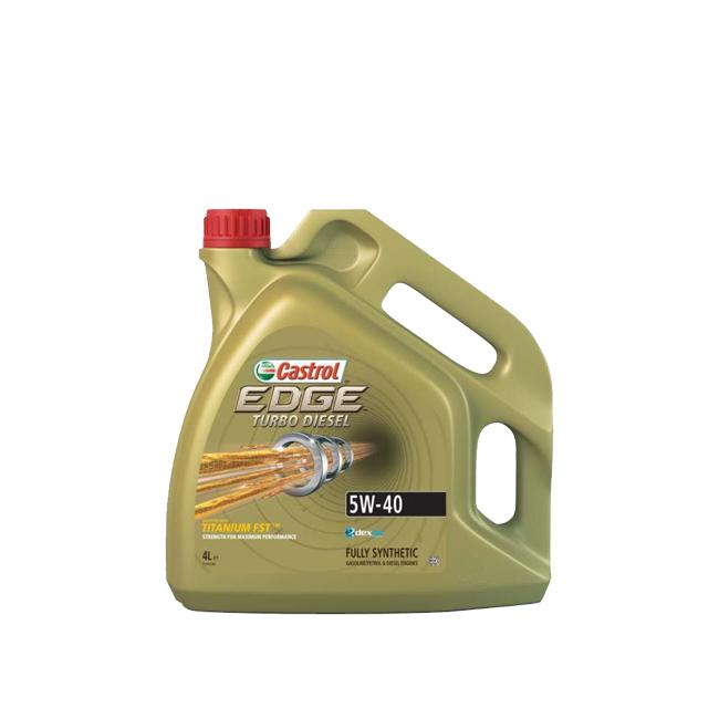 High quality Lubricants Brand name:CASTROL EDGE TD 5W40