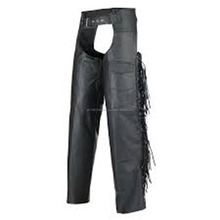 Motorbike Riders Leather Chaps