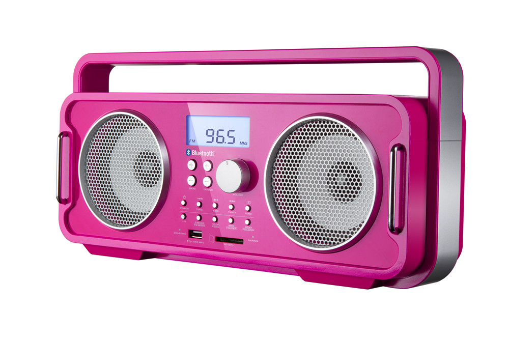 OM-18036 Portable Blue tooth Speaker with FM Radio USB Port