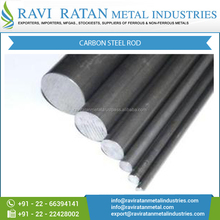 Compact Size Hard Chrome Plated Carbon Steel Rod with High Durability