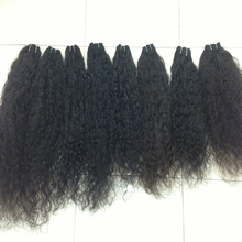 In Stock Afro Kinky Curly Real Human Clip In Hair Extension Made In Vietnam