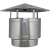 Chinese Windbreaker , End Piece Terminal Cap , Stainless Steel , Fittings for all Products , Single / Double / Concentric Wall