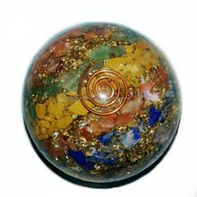 Orgone Ball : Chakra Orgone Balls : Orgonite Energy Spheres/ball : Wholesaler Orgone Products : Crystals Supply