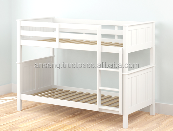 BUNK WHITE BED