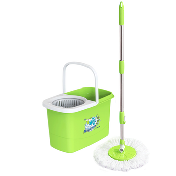10L - House cleaner Magic mop floor cleaning Spin mop - No.497 - Duy Tan Plastic - tangkimvan(at)duytan(dot)com