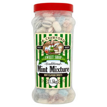 R. Crawford Traditional Mint Mixture Mint Flavour Sweets 1.5kg