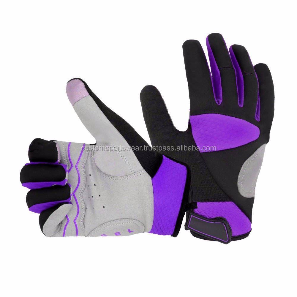 Custom Cycling Gloves Half Finger Anti Slip Road Bike Gloves