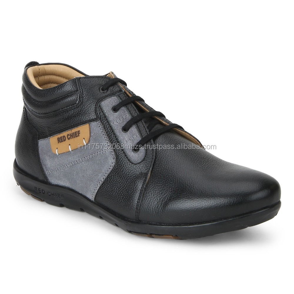 Red Chief Rc1364a Black Men Casual Shoes