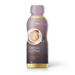 330ml PP bottle Coffee Drink with Cappuccino Flavor Cashew Supplier Vietnam