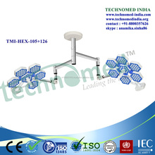 high quality Technomed brand ot led light, hospital medical led operation theatre light,LED Operation Surgery Shadowless Light