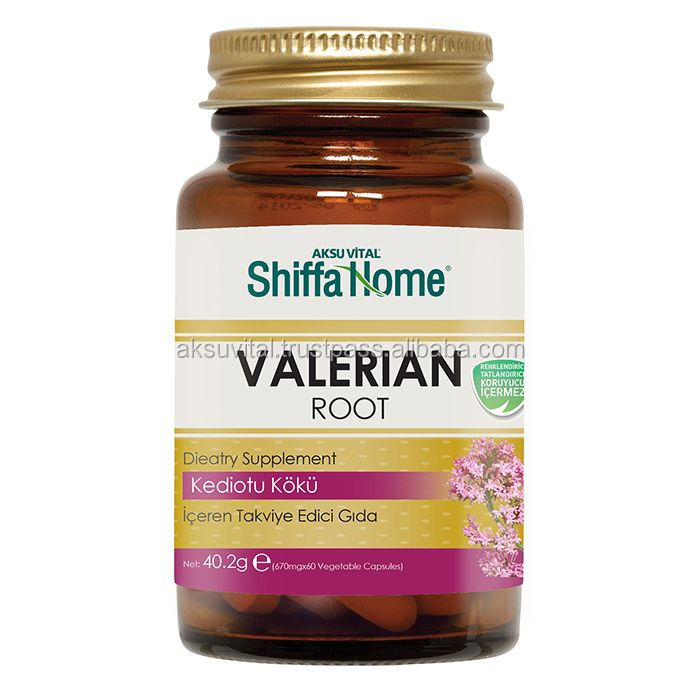 Valerian Root Extract Capsule Herbal Sleeping Tablets and Capsules Pills Insomnia Hydroxypropyl methyl cellulose