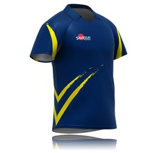 Customised team logo printed cricket jersey