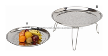 Indian Buffet Serving Stainless Steel Food Tray
