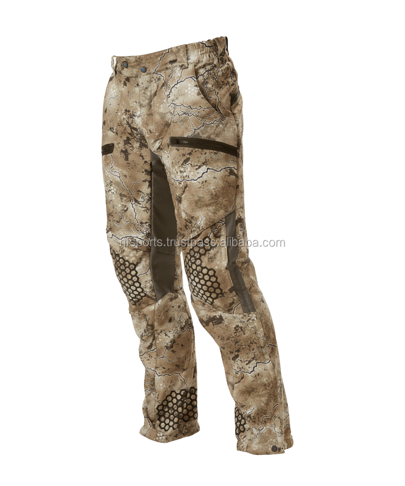 Men's Green Hunting Trousers, Hunting Pants