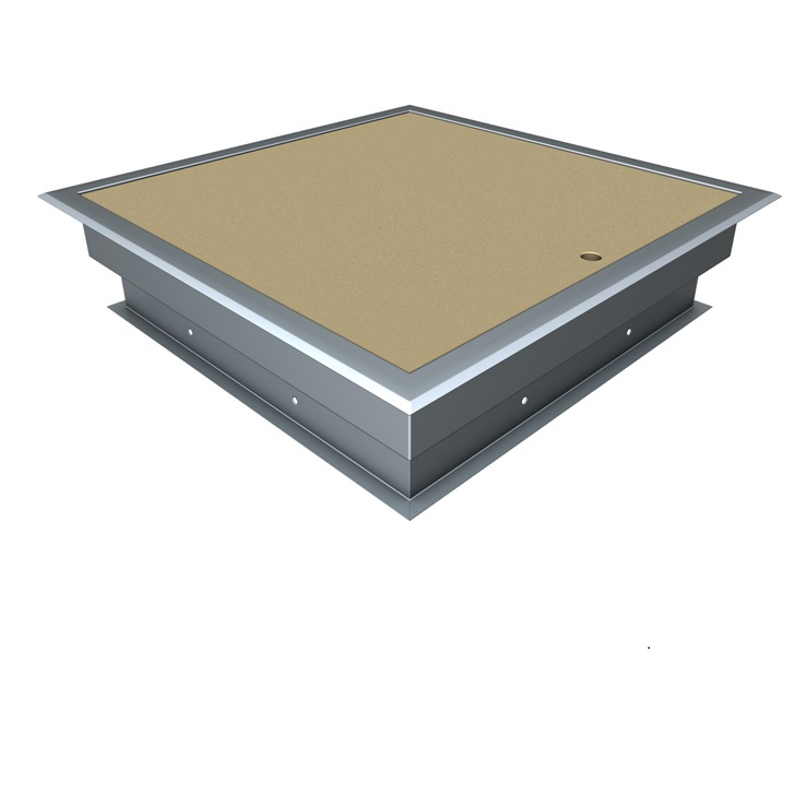Fire rated ceiling access panel 1 Hour Fire Rated Budget Lock - Feathered Edge 600x600