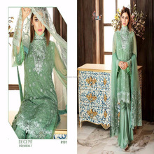 Shree Fab Decent Premium Vol 7 Adorable Designer Georgette Embroidered Fancy Pakistani Suit