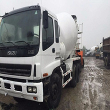 Low price Japan Isuzu concrete truck mixer used for sale