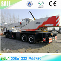 Perfect condition 2015 telescopic zoomlion/XCMG 50t hydraulic truck mounted mobile boom crane sale