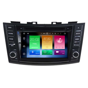 Hifimax Android 8.0 Car DVD GPS Navigation System For Suzuki Swift (2011-2015) / Ertiga Touch Screen Multimedia Car Stereo
