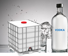 Poland Vodka Bulk1000 L IBC Container