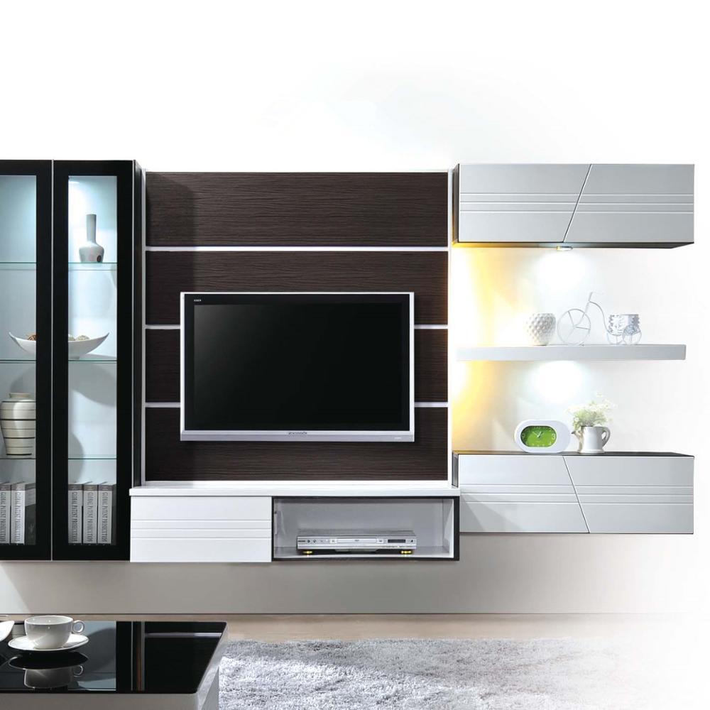 modern design living room hanging cabinet with display