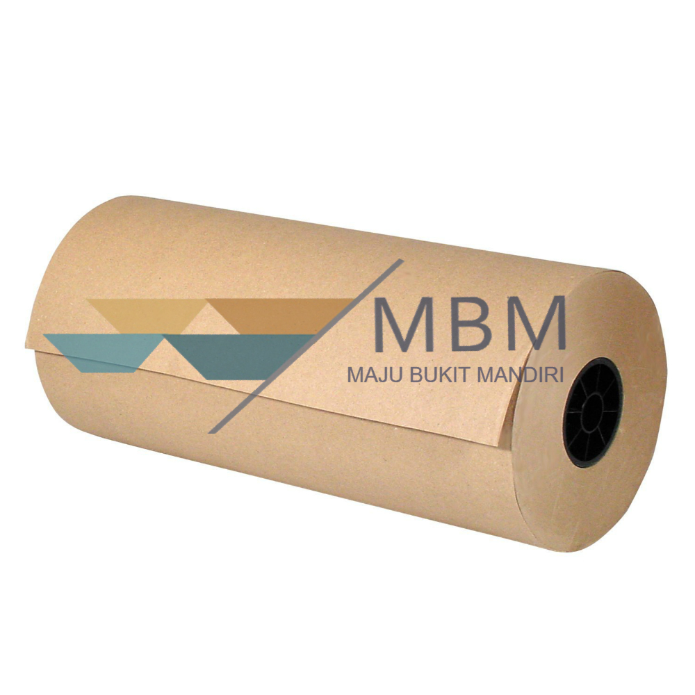 High Quality Pure Wood Pulp Brown Kraft Paper Roll