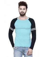 Baseball style full sleeve men's t-shirts/cotton baseball style high quality adults t-shirts