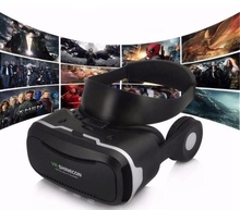 <strong>3D</strong> <strong>VR</strong> Headset <strong>Glasses</strong> with OEM logo Headphone Game Virtual Reality Box for Movie Video <strong>Glasses</strong>