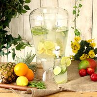 2 Gallon Plastic Cold Beverage Dispenser