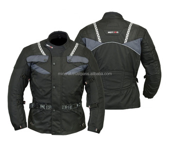 Men Black Hi Viz MOTORBIKE Motorcycle Armoured waterproof Cordura Textile Jacket Collection All Weather CE Approved