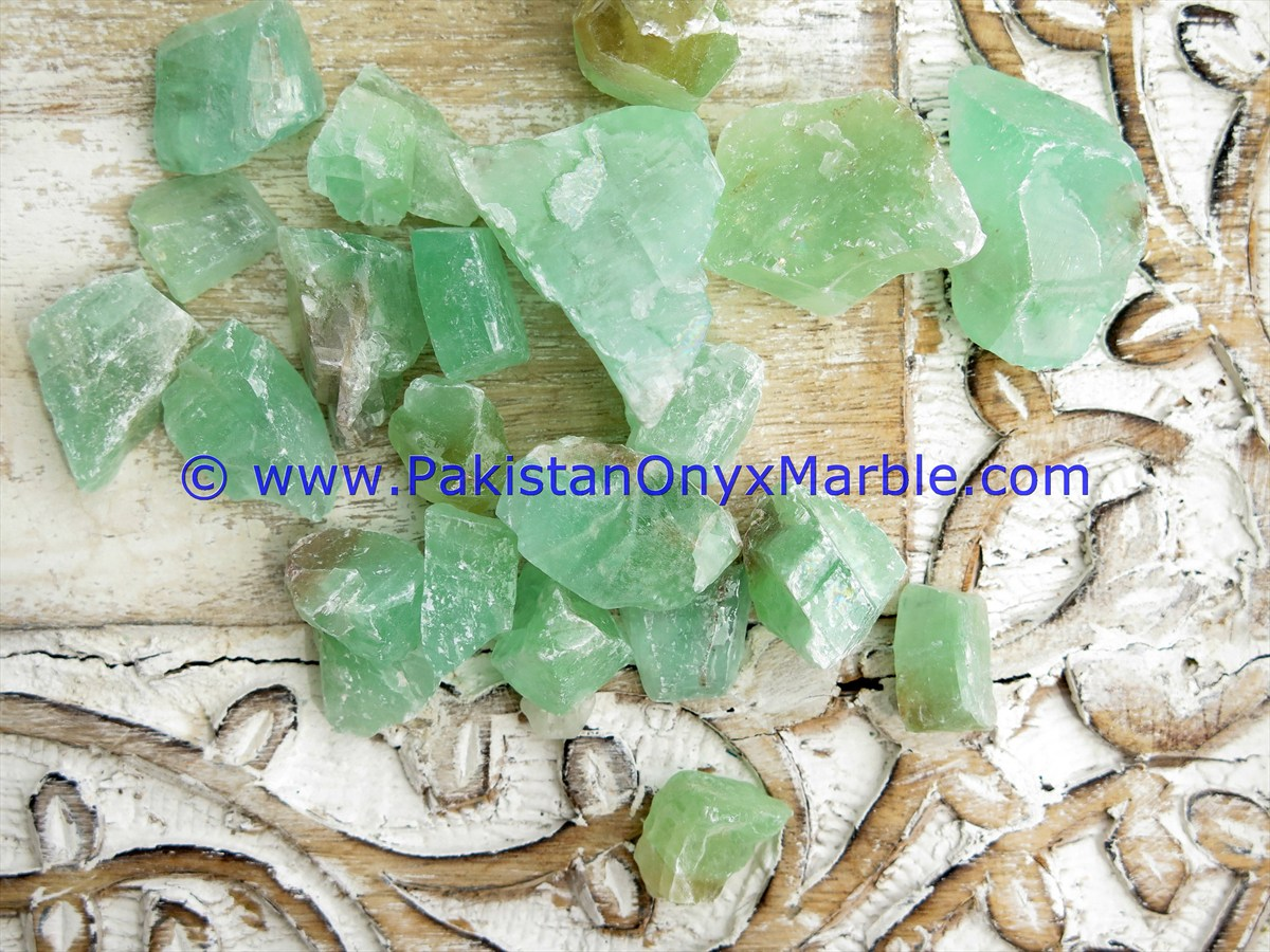 BEST HIGH QUALITY CALCITE ROUGH NATURAL GREEN