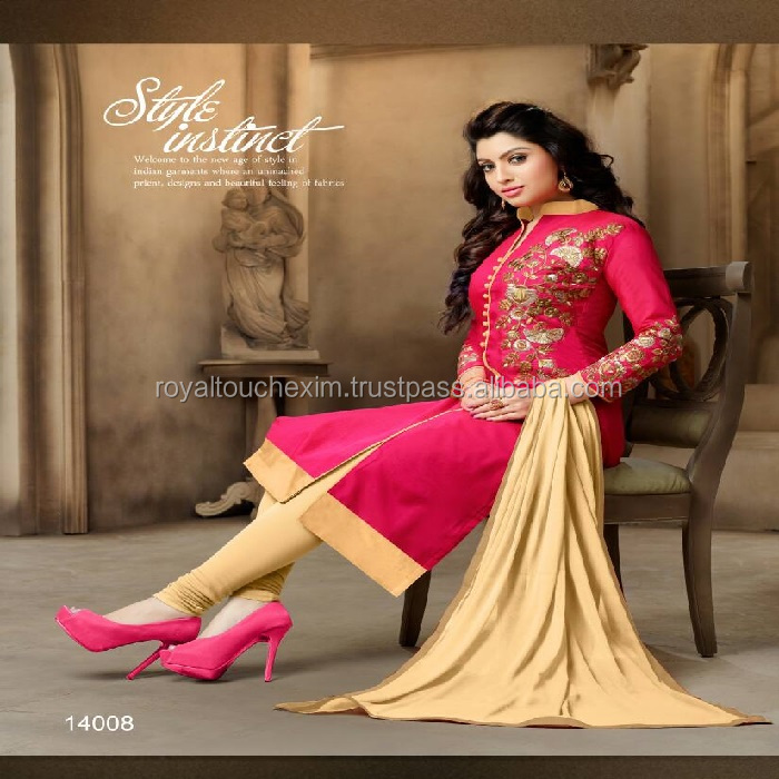 Fashionable Glace Cotton Print Salwar Kameez pakistani dress design salwar kameez