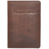 Passport RFID Leather Wallets