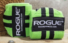 Fitness Neon Green 12 inch Wrist Wraps New Poly Cotton