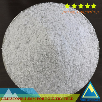LIMESTONE FOR POULTRY/FISH FEED GRADE,