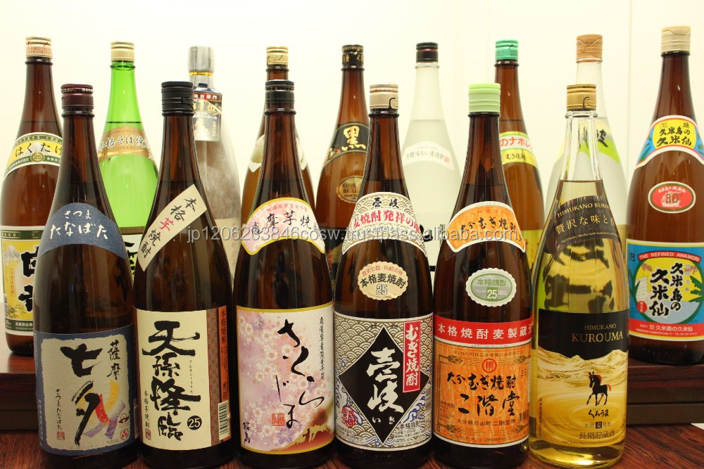 Various kinds of internationally recognized imo shochu made in Japan