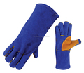 Reinforced Palm Leather Welding Gloves