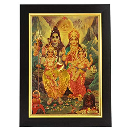 gold foil 3D Indian God Gold Foil Picture Art and Craft Indian 24k for decoration or collection
