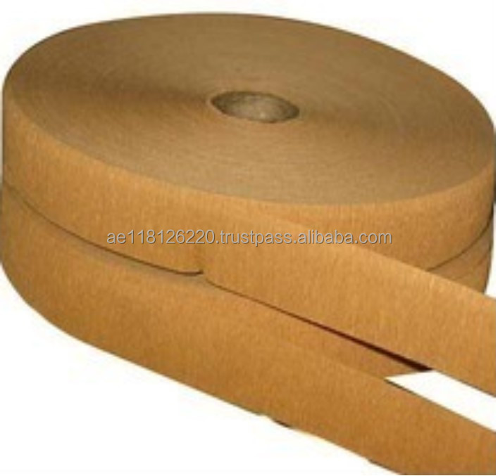 Crepe Paper Tapes for Bag Sealing