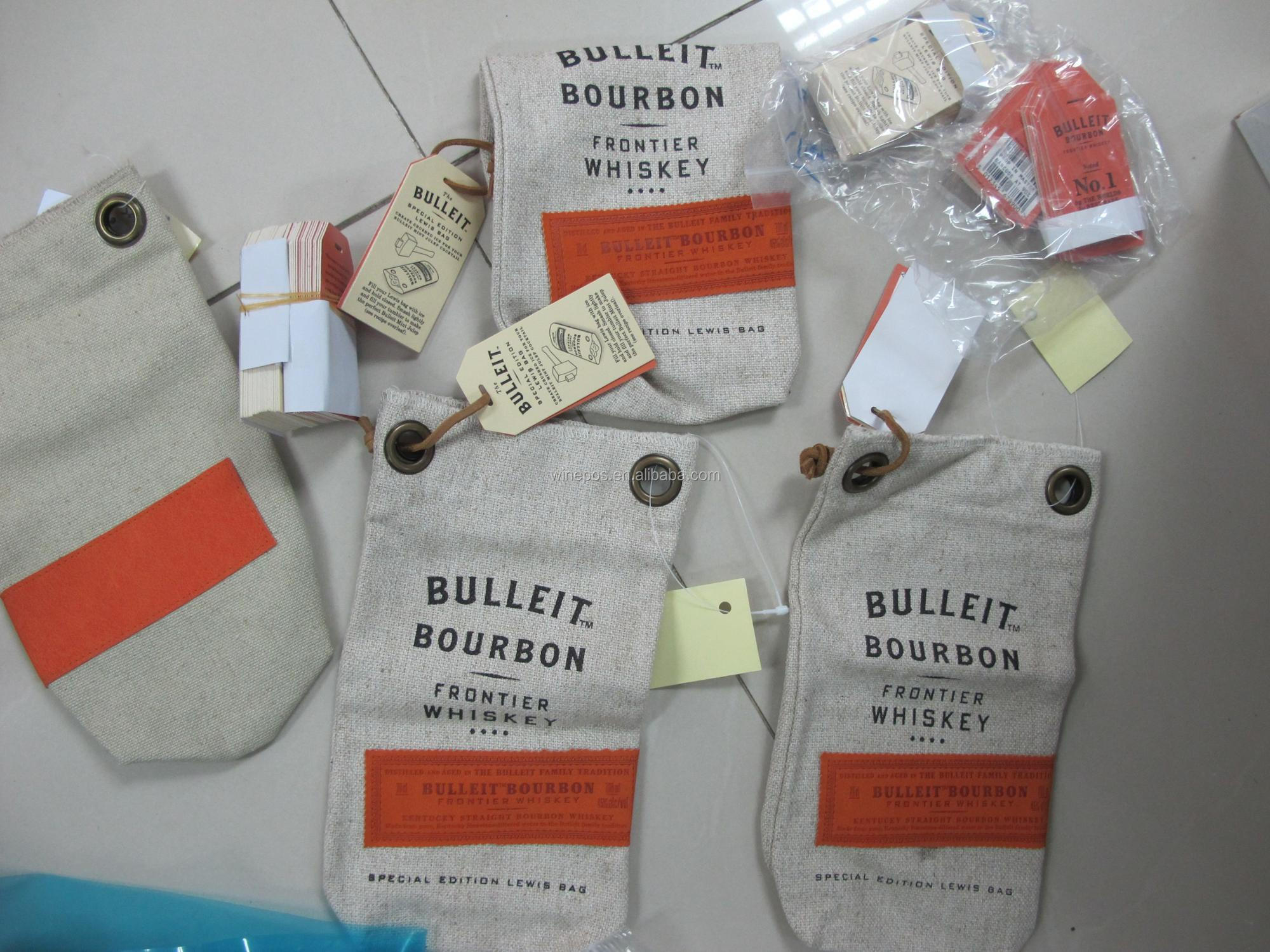 wine bags, Bulleit Bag, wine carrier, wine bag
