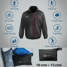 """FEATHER"" - World's Lightest Jacket by VERSATYL (179 gms)"