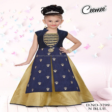 Latest Fashion Colorful looking Masakali Girls Dress
