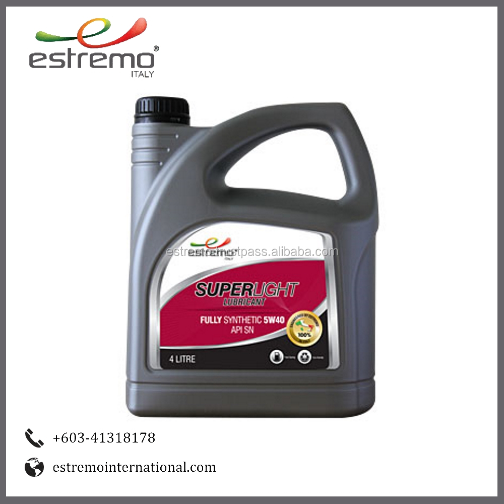 Estremo Superlight Fully Synthetic Engine Lubricant Oil (ESFS)