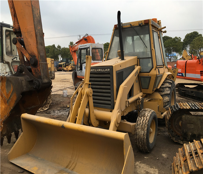 High quality used CAT caterpillar 416 backhoe loader,used cat 416 420 426 backhoe loader